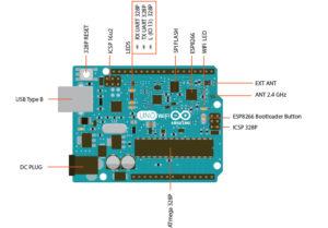 Arduino Uno WiFi Zeichung